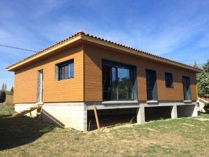 chantier maison bois