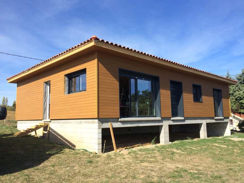 Maison ossature bois à Graulhet
