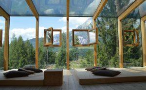 veranda maison bois